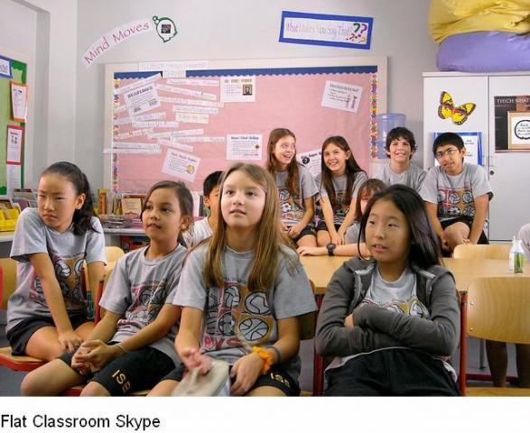 flat classroom image
