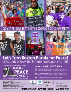 Louis B. Brown Peace Walk 2016